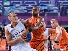 Geen halve finale, maar eerst een kwartfinale voor Nederlandse 3x3-basketballers
