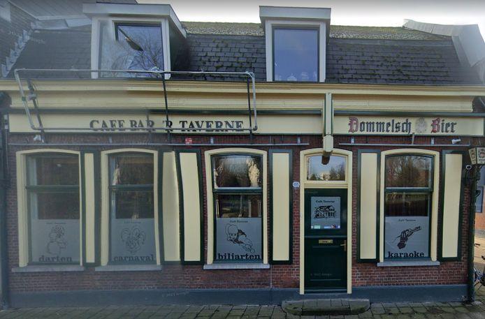 Cafe-bar 't Taverne aan de Bredaseweg in Tilburg.