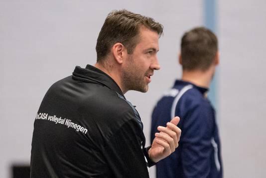 Vocasa-coach Joost Joosten op archiefbeeld.