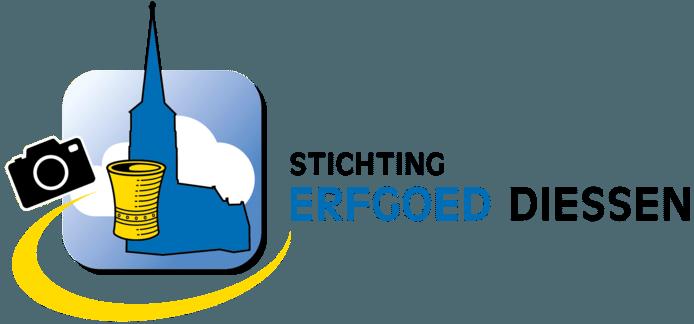 Het nieuwe logo van de Stichting Erfgoed Diessen.