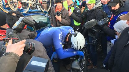 Terpstra rondt teamwork van Quick-Step Floors knap af in barkoude GP Samyn