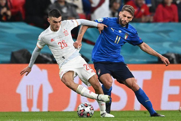 Pedri speelde zeer sterk tegen Italië.