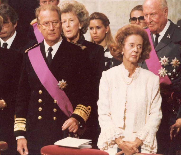 Na het overlijden van Boudewijn in Motril is Albert naar Spanje gevlogen. Daar heeft hij met Fabiola gesproken, die hem zei: 'Boudewijn zou gewild hebben dat jij hem opvolgt.' Beeld