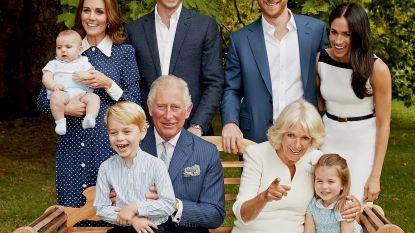 Knuffelige opa prins Charles verovert harten van Britten