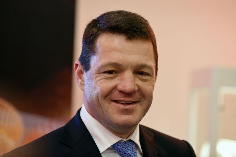 Pieter Elbers, topman van KLM. Beeld AFP