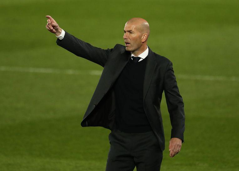 Zinédine Zidane. Beeld REUTERS