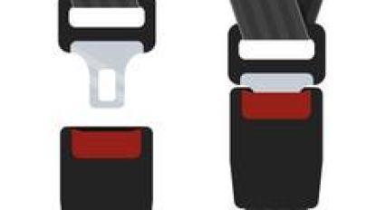 Twee bestuurders betrapt op het niet dragen van de gordel