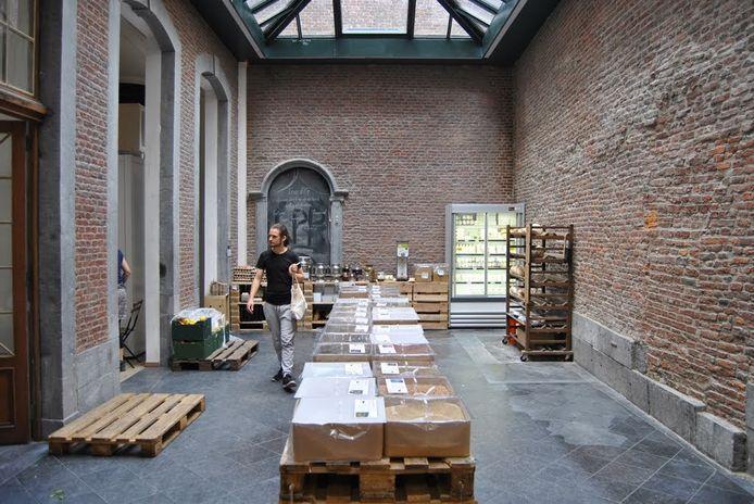 Le magasin Les Petits Producteurs, en Neuvice, connait une baisse de fréquentation, depuis le début du confinement.