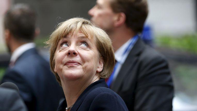 Duits bondskanselier Merkel: