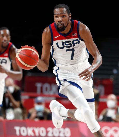 Durant loodst 'Team USA' voor vierde Spelen op rij naar basketbalfinale