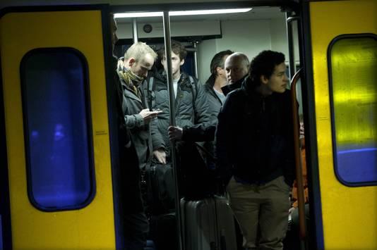 NS ligt al langer onder vuur vanwege volle treinen.