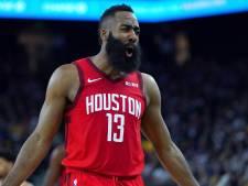 Harden maakt indruk in de NBA: 'Geef de bal maar aan die baard'