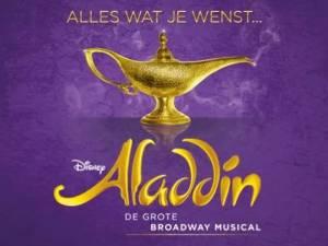 Vijf euro voordeel op Disney's Aladdin