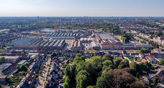 De Arsenaalsite in Gentbrugge beslaat meer dan 15 voetbalvelden. Zulke lappen grond komen in Gent nog amper vrij.