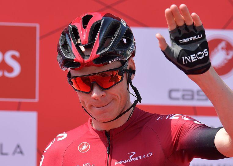 Viervoudig Tourwinnaar Chris Froome neemt dit jaar afscheid van Team Ineos. Beeld AFP