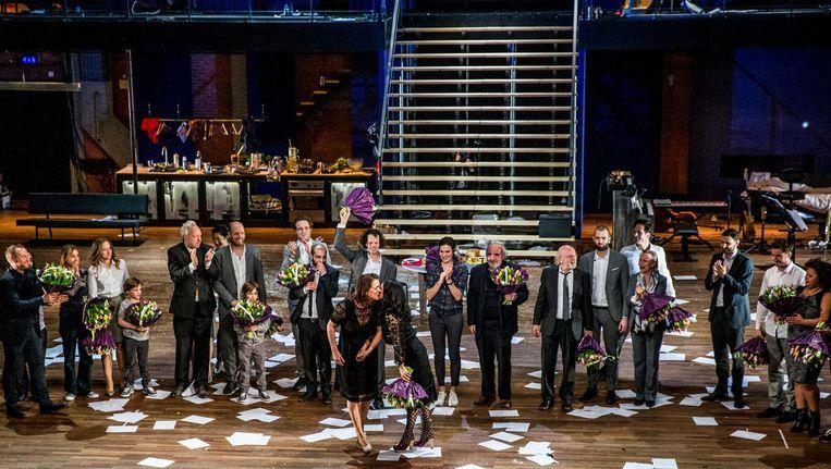 De toneelbewerking van de eerste twee seizoenen van de Deense serie duurt in het theater negen uur Beeld anp