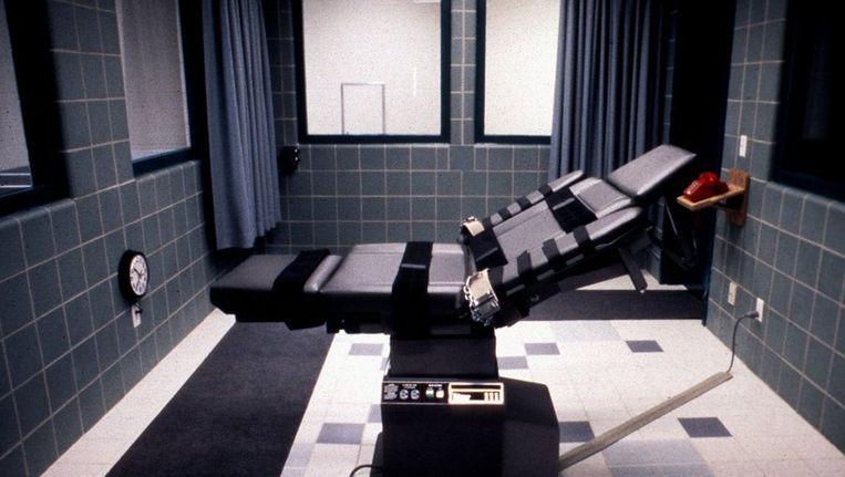 Een zogeheten executiekamer Beeld ANP