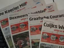 Toekomst regionale weekbladen Land van Cuijk onzeker door verkoop aan nieuwe uitgever