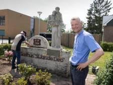 St. Jan is weg bij Gasthuis Millingen: beeld van de heilige is verplaatst