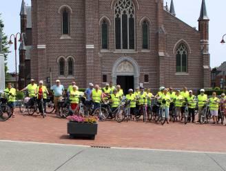 Eerste fietstocht van het seizoen voor Vief en Veloclub De Burgersgilde