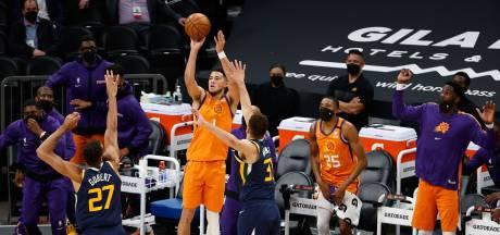 Phoenix Suns nestelt zich naast koploper Utah Jazz