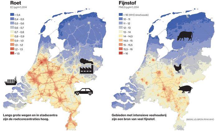 Luchtvervuiling in beeld gebracht