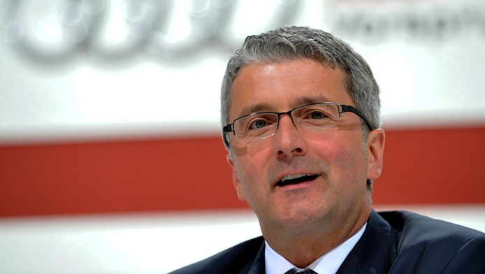 Rupert Stadle, le patron d'Audi.