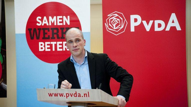 PvdA-fractievoorzitter Diederik Samsom. Beeld