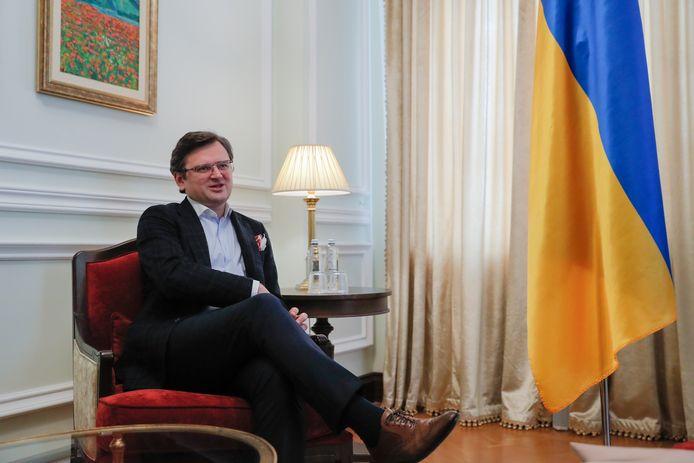 Dmytro Kouleba, ministre ukrainien des Affaires étrangères