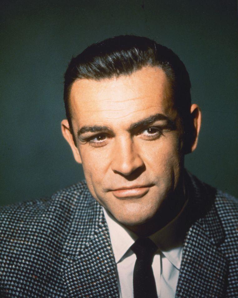Sir Sean Connery werd wereldberoemd door zijn rol als James Bond. Beeld Getty Images