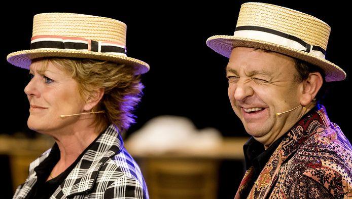 Simone Kleinsma en Jon van Eerd zijn genomineerd voor hun rollen in Moeder, Ik Wil bij de Revue.