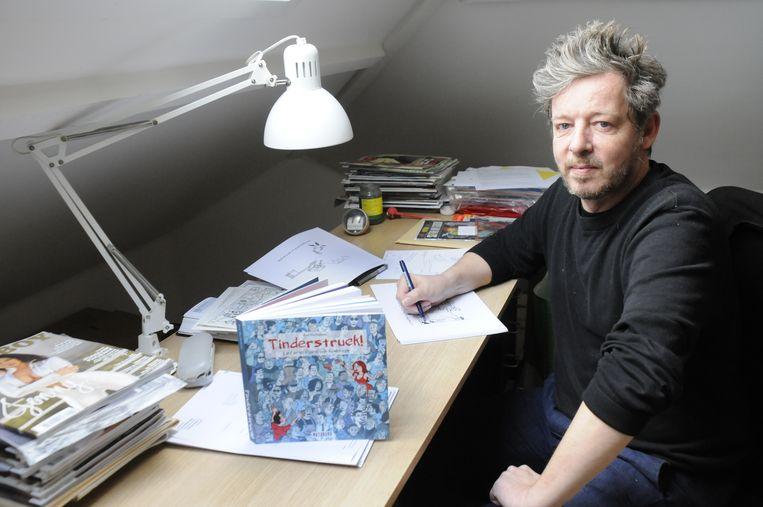 Kim Duchateau bundelde zijn cartoons over seks, relaties en liefde in Tinderstruck.