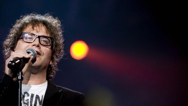 Guus Meeuwis is een van de artiesten die meeschrijven aan het Koningslied Beeld ANP