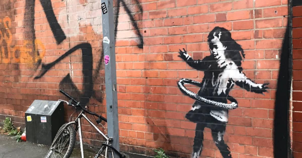 Une oeuvre de Banksy à Nottingham vendue et retirée d'une façade - 7sur7