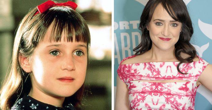 "Mara Wilson, la star du film ""Matilda"", sorti en 1996."
