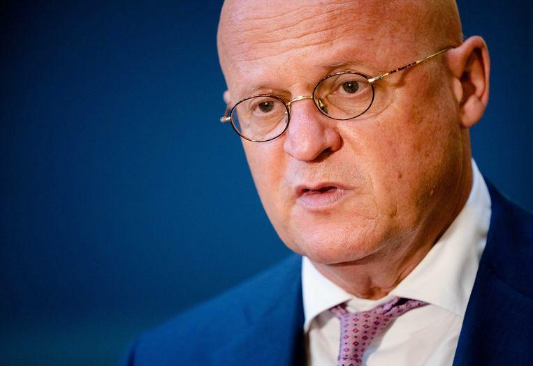 Demissionair Minister Ferdinand Grapperhaus van Justitie en Veiligheid (CDA). Beeld ANP