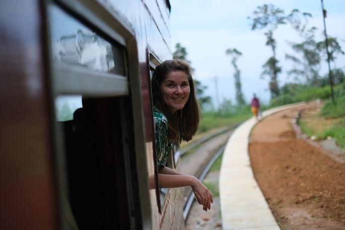 Chantal (33) in Sri Lanka.