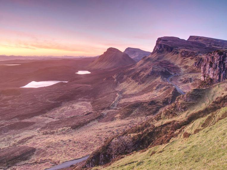 Het Schotse eiland Skye. Tamsin Calidas geeft de naam van haar eiland niet prijs, omwille van haar privacy en die van de andere bewoners. Beeld Getty Images