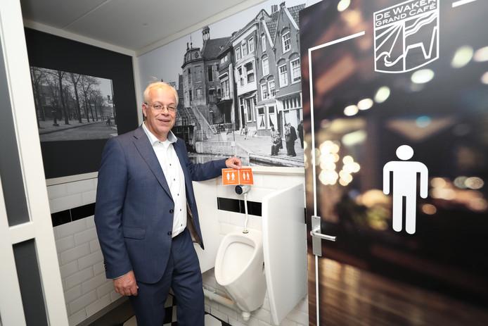 De Maassluise wethouder Gerard van der Wees eerder dit jaar in actie.
