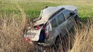 Twee gewonden bij zware crash op E40 in Oudenburg