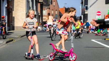 Op straat spelen: voor 1 keer mag het in Sint-Pieter