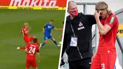 Bornauw antiheld bij Keulen: verdediger krijgt op aangeven van VAR rood na smerige fout