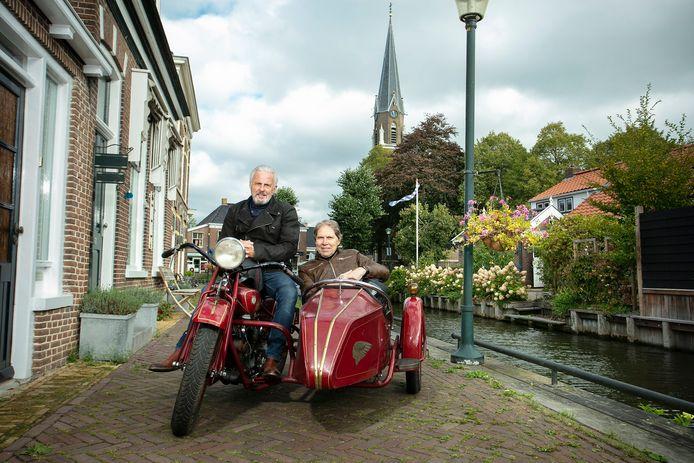 Huub Stapel  (links) en Wim Daniëls van Het Dorp.