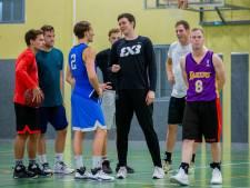 Matthew wil bij basketbalclub Trajanum de klus van Matthew afmaken