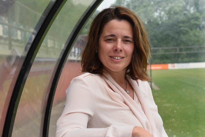 SC Woerden-voorzitter Hanneke Overbeek.