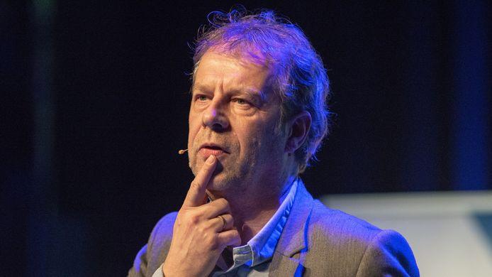 Xander Koppelmans op het CCV-cybercongres