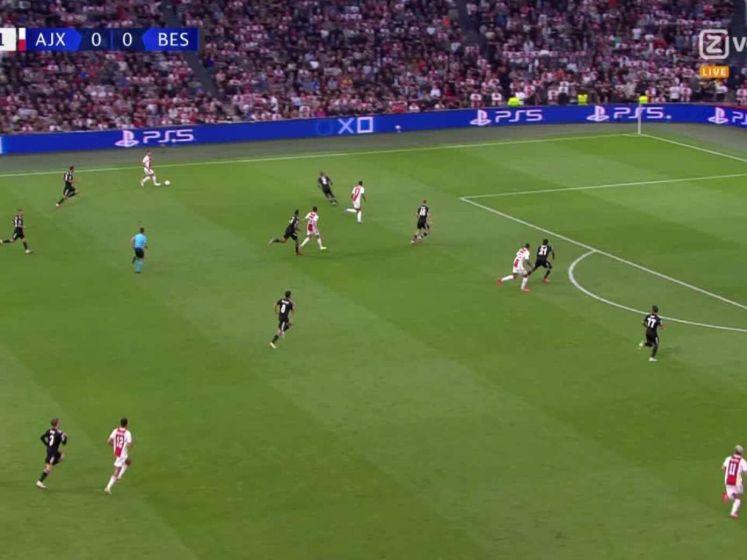 Berghuis schiet Ajax op voorsprong tegen Besiktas