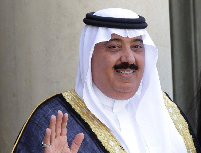 Onder andere prins Miteb bin Abdullah, het hoofd van de Nationale Garde, werd gearresteerd. Beeld reuters