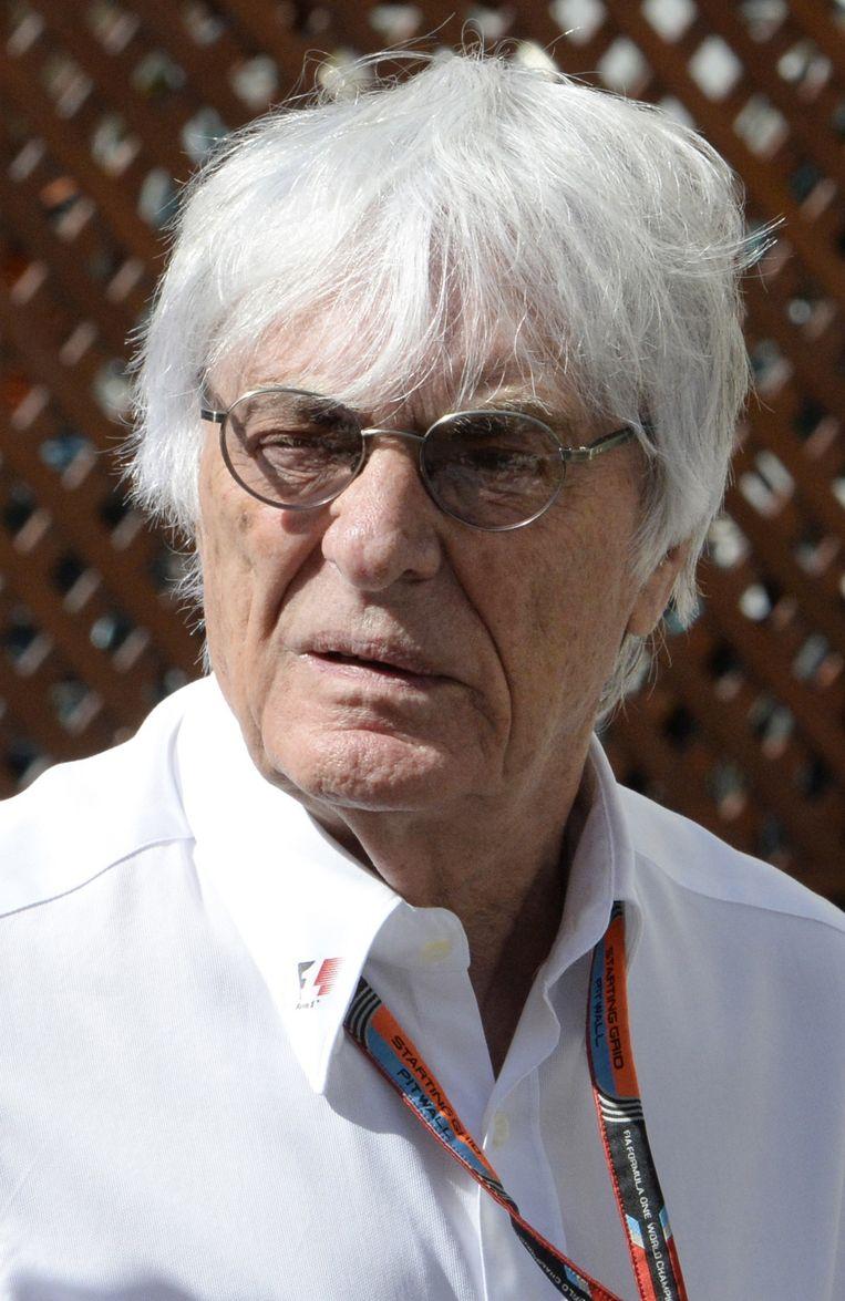 Formule 1-baas Bernie Ecclestone Beeld anp