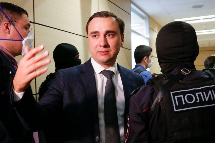 Ivan Jdanov in 2020 in Moskou.